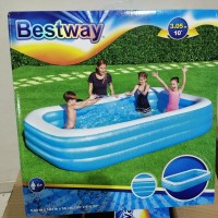kolam renang anak keluarga pool jumbo besar bestway 54009