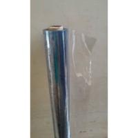 Plastik Mika Bening Lemas Meteran Untuk Taplak Meja Makan Tebal 0.20 m