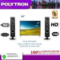 TV LED POLYTRON 50TS883 SPEAKER TOWER + USB MOVIE