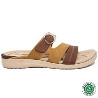 Homyped Letizia N36 Sandal Wanita Coklat/Coklat Muda
