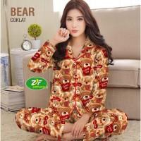 Piyama Murah - PP / Katun Jepang / Baju Tidur / Teddy Bear