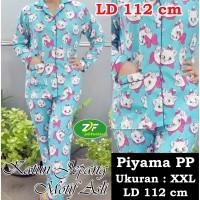 Piyama PP XXL - Katun Jepang / Baju Tidur Murah - Karakter Marie Cat