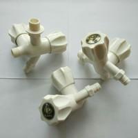 KRAN CABANG PVC/KERAN WC