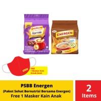 PSBB Energen Paket Sehat Bernutrisi Bersama Energen Free Masker Anak