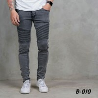 Biker jeans/skinny jeans/celana jeans pria