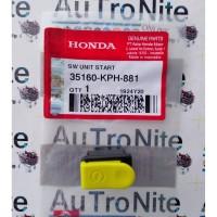 Tombol Starter Switch Start 35160-KPH-881 Original Honda Revo Karisma