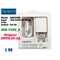 Charger Oppo Typpe -C 5V - 2A ORIGINAL