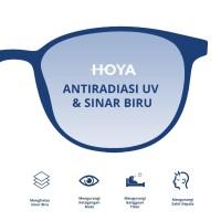 Penambahan Lensa HOYA SV Estelux XP UV 420 Max. -4.00 Cyl. -2.00 Index