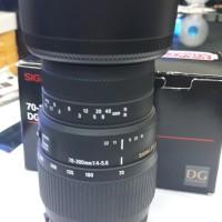 LENSA DSLR SIGMA 70-300 FOR Canon