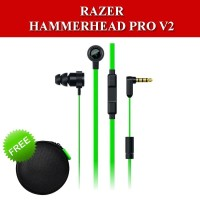 Razer Hammerhead Pro V2 Headset Earphone Gaming with Mic