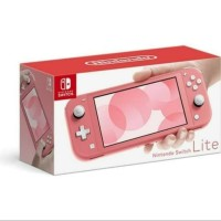 Nintendo Switch Lite : Pink Coral / Switch Lite Pink