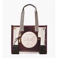 Tory Burch Ella Clear Mini Tote Bag Small/Large Tote - Small