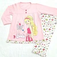 Piyama / baju tidur anak perempuan Barbie, sz 2