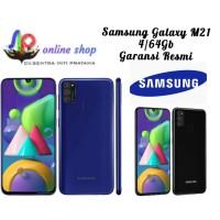 Samsung Galaxy M21 4/64GB Garansi Resmi - Hitam