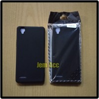 Case Oppo F1 F1F A35 Black Matte Case Softcase Silikon Soft Case
