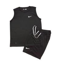 Kaos Singlet Nike + Celana Olahraga , Futsal Volly Voli Gym Murah
