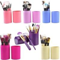 Kuas make up tabung/ brush makeup/kuas set/kuas isi 12psc/kuas make up