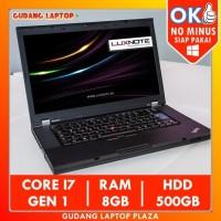 Lenovo Thinkpad W510 Core i7 RAM 8GB Laptop Murah Bekas Second Terbaik
