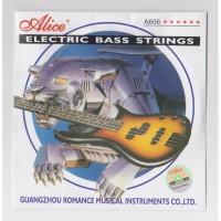 1 Set Senar Bass Alice Original A606-L (4 Senar)