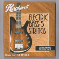 1 Set Senar Bass Rockwell 5 Senar RB 45125