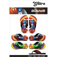 Sandal Glitra GoKids - 8, Hijau