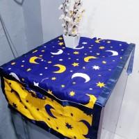 sarung kulkas motif - bulan bintang