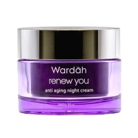 wardah renew you night cream 30g