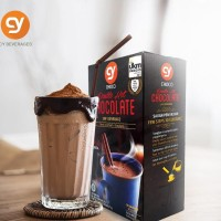 Minuman Coklat//CY Double Hot Chocolate 3 in1 40 g x 10 sashet
