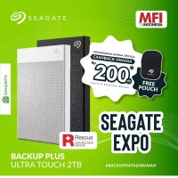 SEAGATE BACKUP PLUS ULTRA TOUCH 2TB / HDD Eksternal/External Drive 2TB