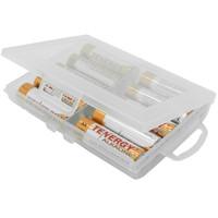 Battery Case 10 slot / kotak baterai / box batere AA dan AAA isi 10