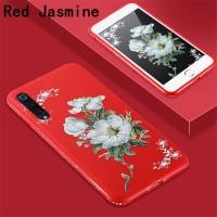 Jasmine Flowers Soft Case Bling Diamond Casing Samsung A80 A70 A70s