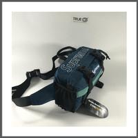 Supreme FW19 Waist Bag Dark Teal / Bue 100% Original