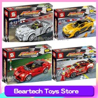 Racing Speed Champion Lego Compatible 75908 75899 75910 75909 Sports
