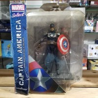 Sale Mainan Action Figure Masked Captain America Marvel Select Ms Cap