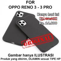 Case Oppo Reno 3 - Reno 3 Pro softcase casing hp cover tpu BLACK MATTE - Reno 3