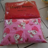 Bantal bluru peangkotak happy beauty