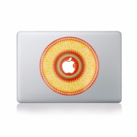 17 Stiker Decal Motif Bunga Cantik Bahan Vinyl untuk Apple Macbook