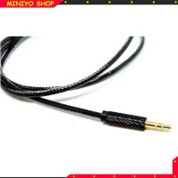 Kabel AUX 3.5mm HiFi 1 Meter - Black