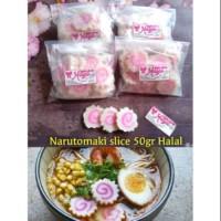 Narutomaki 50gr slice halal bakso ikan ramen shabu shabu sushi mie