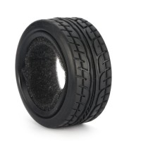 4Pcs Ban Mobil RC 1/10 49Mm Grain Drift On-Road Car Rubber Tires For
