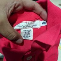 Kaos Berkerah H&M anak laki laki
