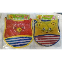 Kiddy 3702 Slaber plastik kiddy isi 2pcs