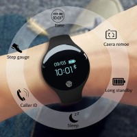 H8 Sanda Jam Tangan Wanita Wrist Smartwatch Cewek Remaja Siswa