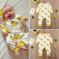 Adn-cute Jumpsuit Katun Bayi Laki-laki / Perempuan Lengan Panjang
