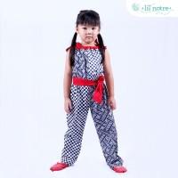 Lilnotre Playsuits Batik Anak/Haylie Playsuit/Red/A