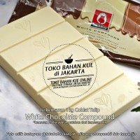 Tulip White Compound 200gr Coklat Putih Batang Cokelat Murah Chocolate