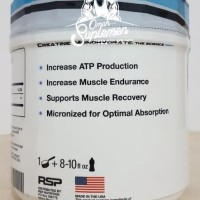RSP Creatine Monohydrate 500 gram rsp creatine micronized powder 500gr