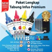 Tabung Tinta Infus Cartridge Printer Canon MG2570s iP2770 MP287 MX497
