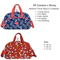 tas travel kipling premium medium camama/ travel bag baju