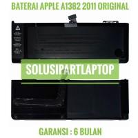 """BATERAI APPLE MACBOOK PRO 15"""" A1382 A1286 2011 BLACK ORIGINAL"""